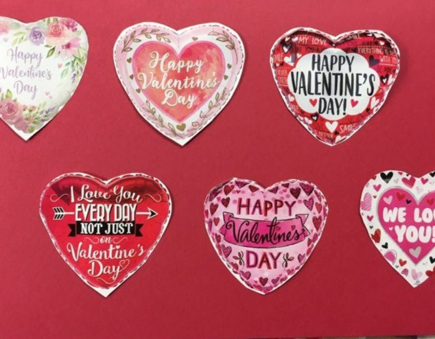 Valentines Day Baloon Selection