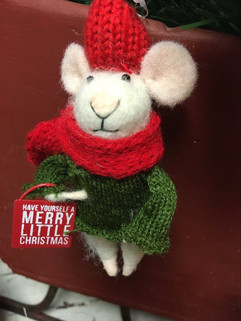Merry Little Christmas Mouse