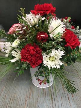 Wreath Pot Arrangment