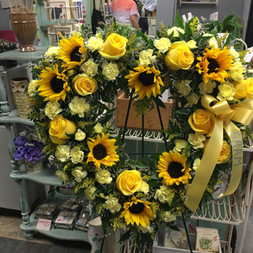 W5-Yellow Heart $185