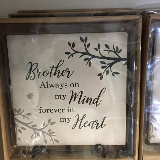 Brother Plaque