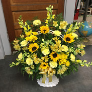 W3-Yellow Basket $145