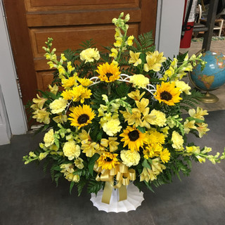 W3-Yellow Basket $135