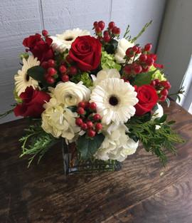 Festive Block Vase