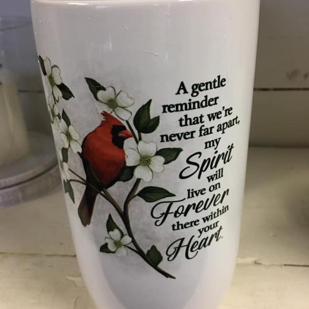 Cardinal Vase