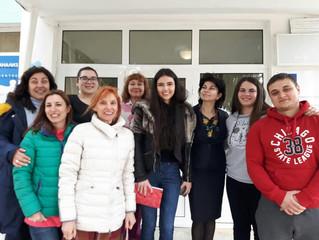 """Посещение на Валери Коничева- една от победителките в конкурса"""" Посланик за един ден"""" в АВ"""