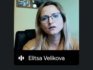 Онлайн обучение на ерготерапевтите на АВА центровете с Елица Великова