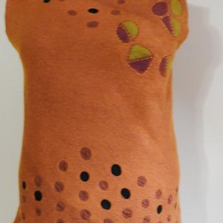 Silk_Merino Tunic with stitching and lac