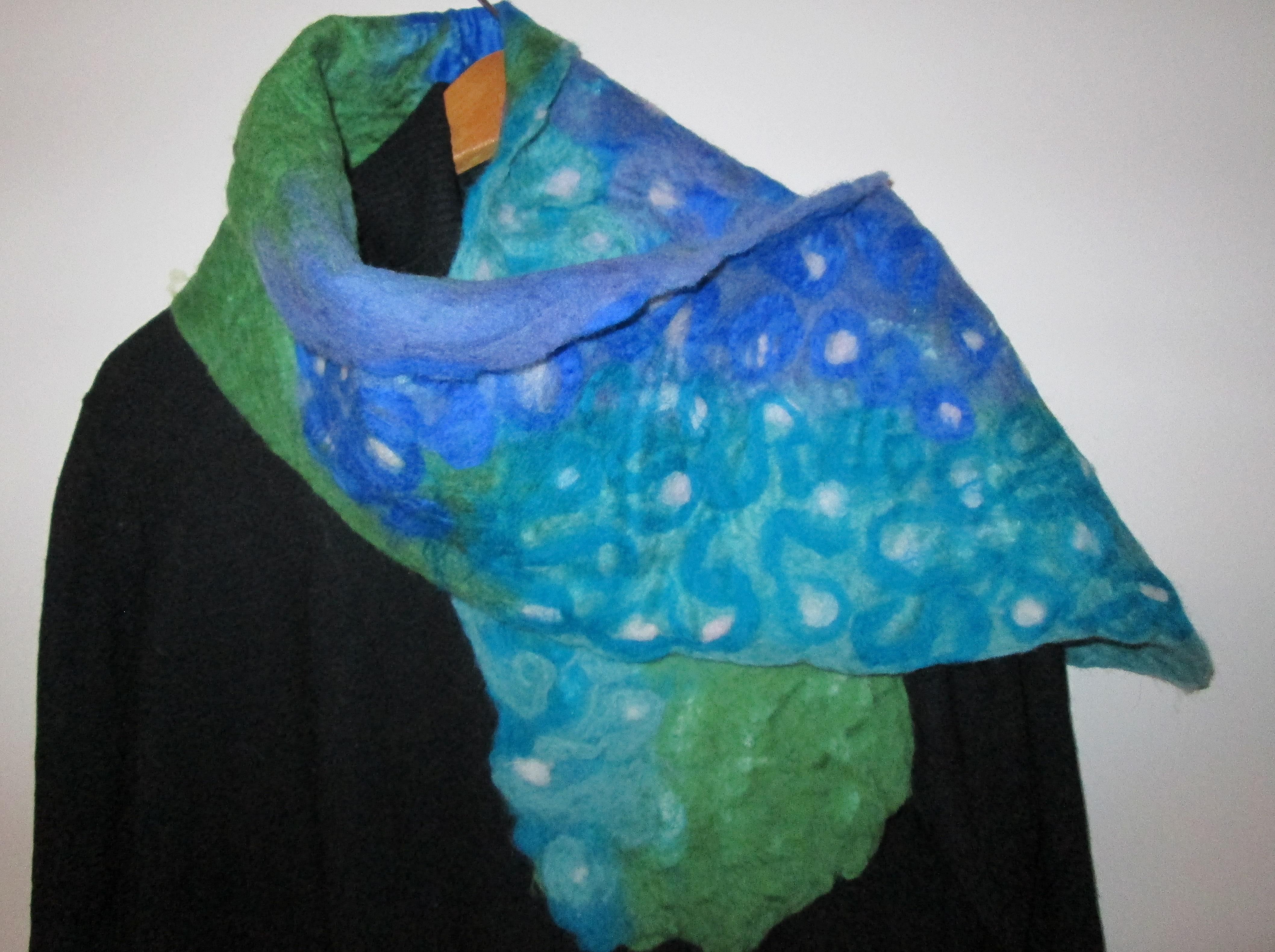hollyhock scarf