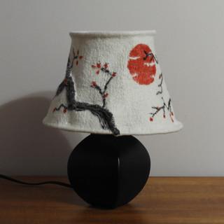 Cherry tree lamp