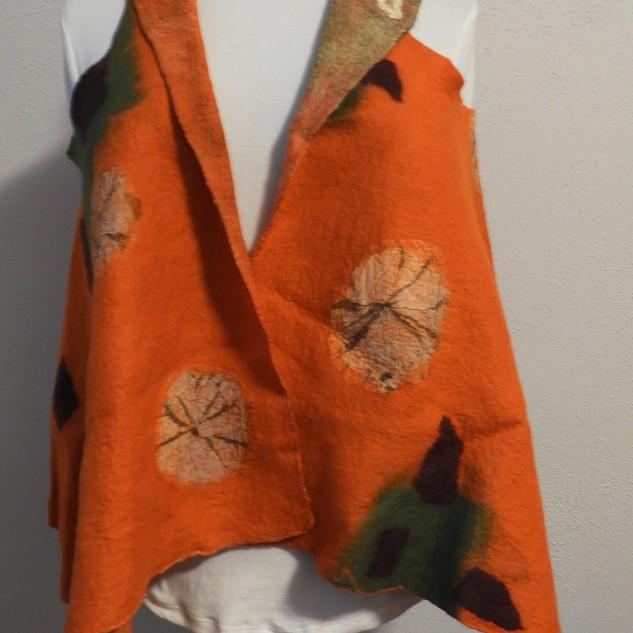 Orange versatile Vest