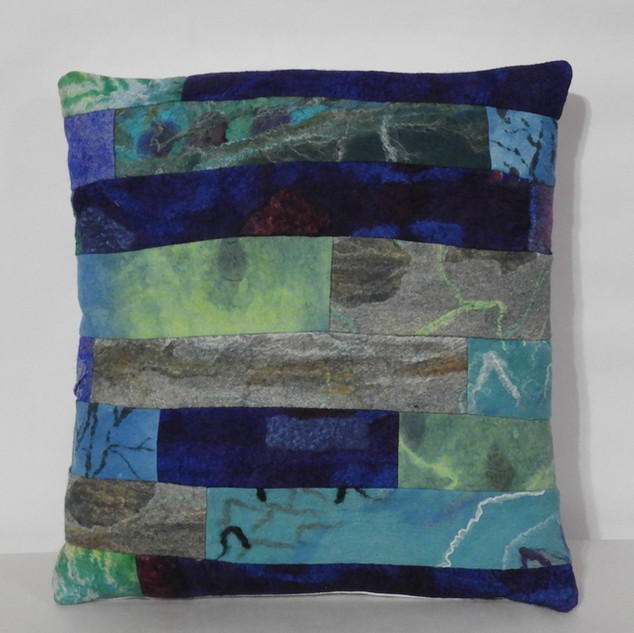 nothing but the blues cushion