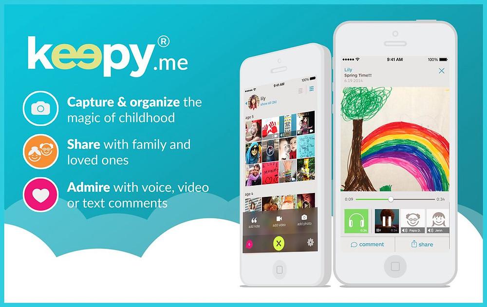 the keepy app