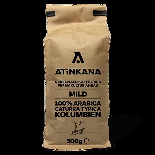 Café arabica 100% Colombien Eco friendly Torréfaction Douce 500g