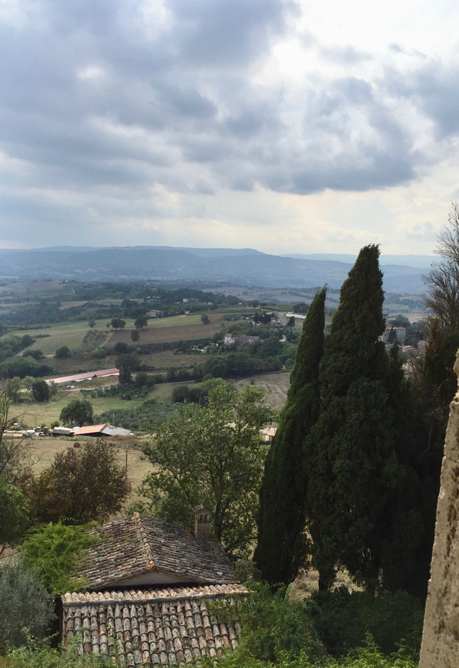 Over the Hills and Through the Woods: Umbria and Torre Almonte