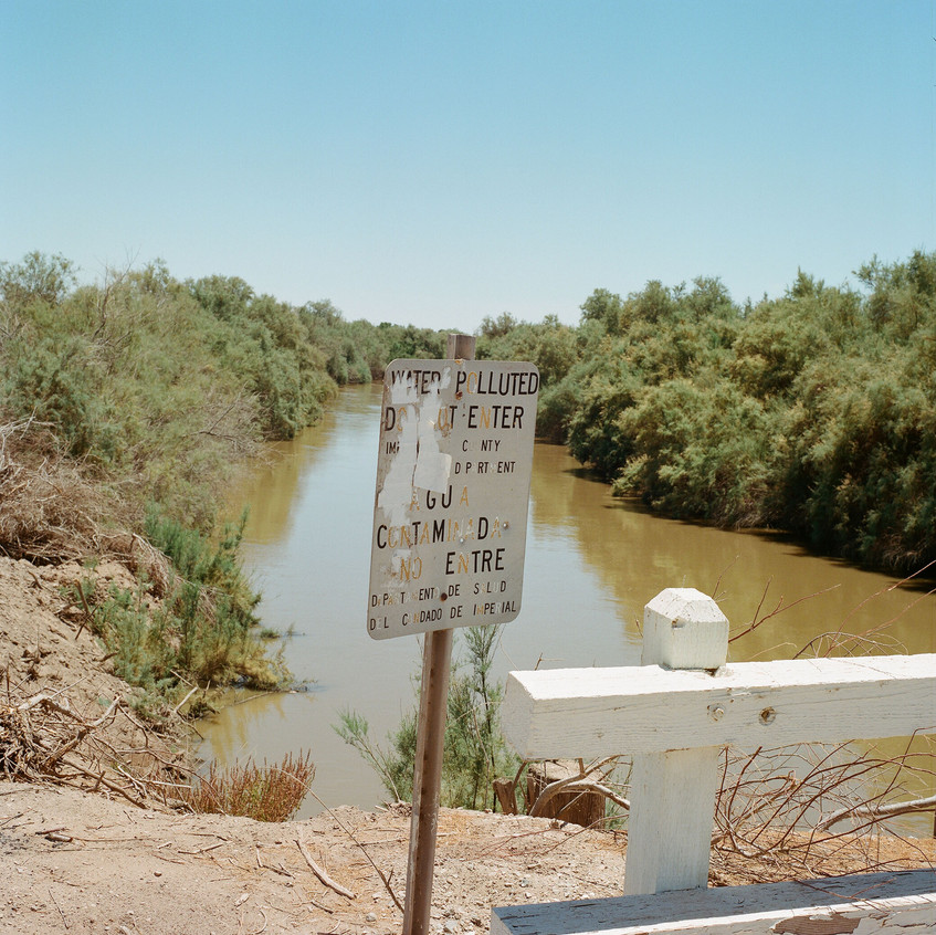 AA 36 Alamo river Near Salton Sea