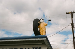 kid and tire
