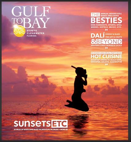 2019 Gulf to Bay Visit St Pete Clearwater destination magazine