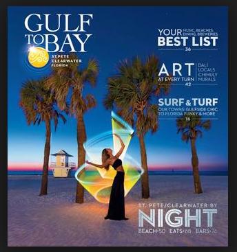 2018 Gulf to Bay Visit St Pete Clearwater destination magazine