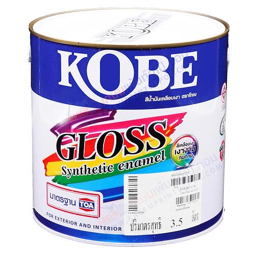 สีน้ำมันโกเบ ทีโอเอ TOA Kobe Gloss Enamel ขนาดแกลลอน 3.5 ลิตร
