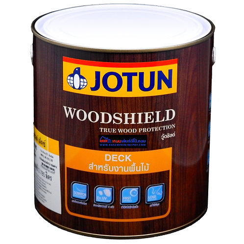 สีย้อมพื้นไม้ โจตัน สีใสด้าน Jotun Woodshield Deck Clear Matt