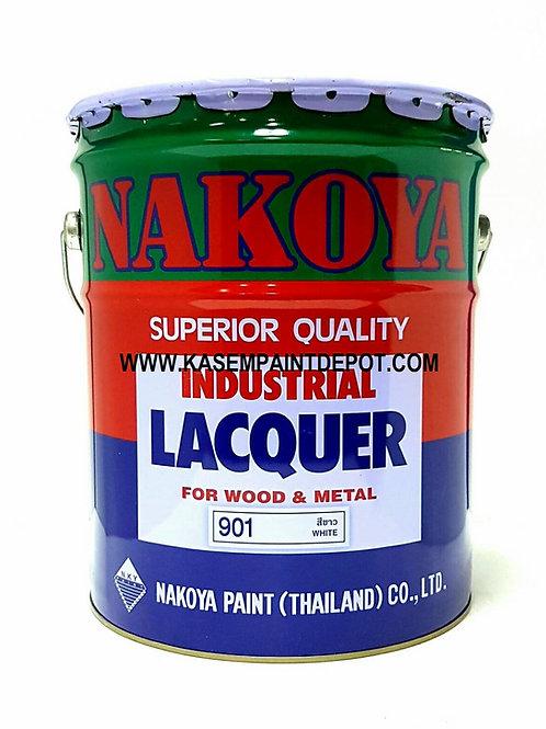 สีพ่นอุตสาหกรรมชนิดเงานาโกย่า Nakoya Industrial Lacquer Gloss  ถัง