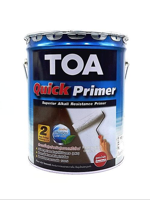 รองพื้นปูนใหม่ทีโอเอ ควิกไพรเมอร์ TOA Quick Primer ถังใหญ่