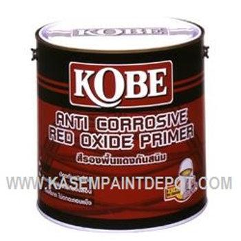 รองพื้นกันสนิมทีโอเอ โกเบ สีแดง TOA Kobe Red Oxide Primer ถังใหญ่
