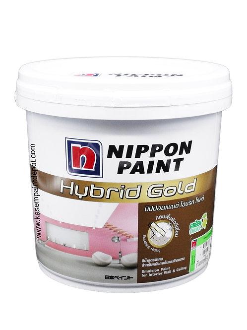 สีทาภายในและฝ้า นิปปอนไฮบริดโกลด์ Nippon Hybrid Gold เบส A ถัง 9.46 ลิตร
