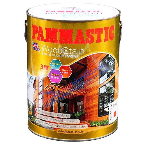 สีย้อมไม้ปามมาสติก Pammastic Woodtsain Gloss