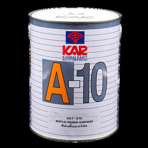 สีพ่นตราพัด พ่นรองพื้นเทาตราพัด เอ-10 Kansai KAR A-10 Primer ขนาดแกลลอน