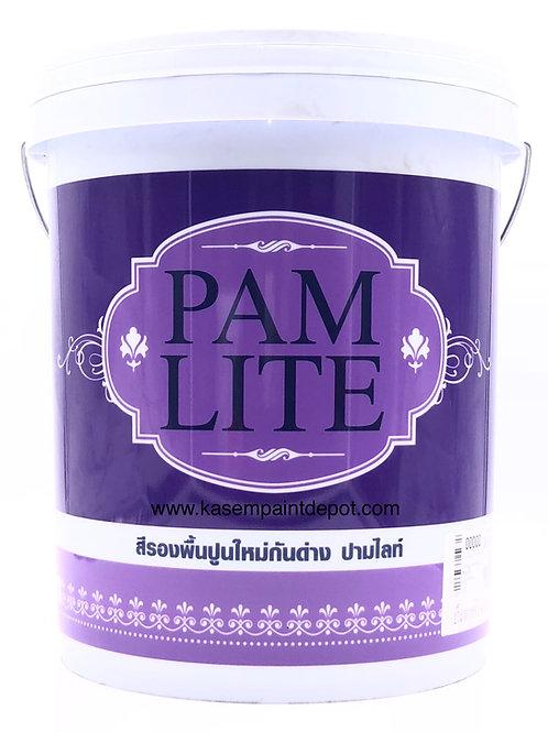 รองพื้นปูนใหม่ปามมาสติก ปามไลท์ Pammastic Pamlite ถังใหญ่ 18.925 ลิตร