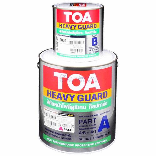 TOA Topguard Enamel สีโพลียูริเทนทีโอเอ ท็อปการ์ด อีนาเมล A+B แกลลอน