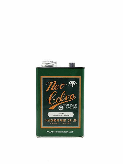 สีพ่นตราพัด แลคเกอร์เงา 7026 Neo-Celva Clear Laquer No.7026 ขนาด1/4แกลลอน