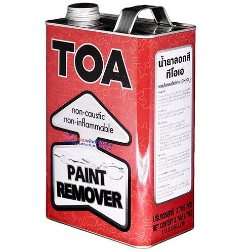 น้ำยาลอกสีทีโอเอ TOA Paint Remover ขนาด แกลลอน 3.785