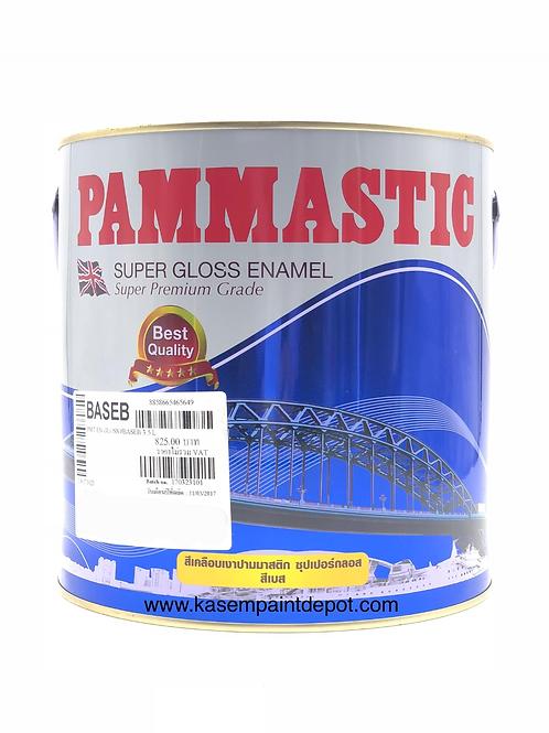 สีน้ำมันปามมาสติก Pammastic Super Gloss Enamel Base A แกลลอน