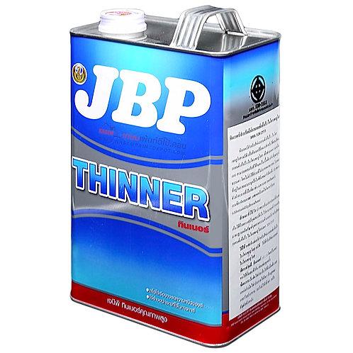 JBP Thinner No.4030 ทินเนอร์ เจบีพี เบอร์ 4030 ผสมสีพ่นอุตสาหกรรม ขนาด แกลลอน