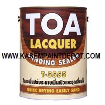 รองพื้นแลคเกอร์ ทีโอเอ แซนดิง ซีลเลอร์ TOA Lacquer Sandling Sealer T5555 แกลลอน