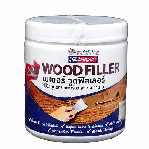 สีโป๊วไม้ เบเยอร์ วู้ดฟิลเลอร์ Beger Wood Filler ขนาด 500 กรัม