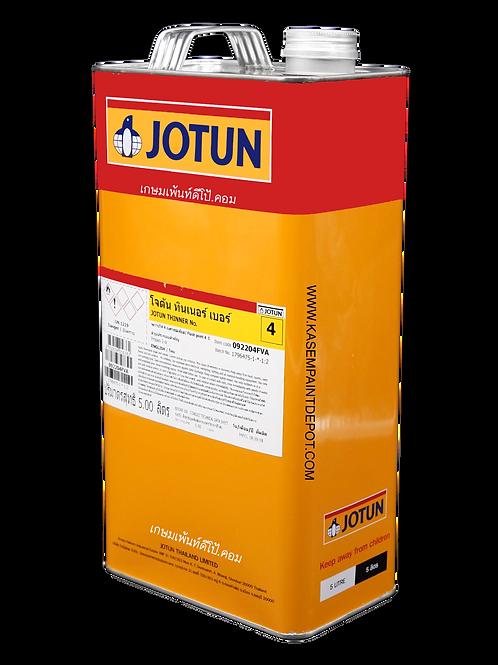 ทินเนอร์โจตันเบอร์ 4 ผสม Jota-etch Primer Jotun Thinner No.4