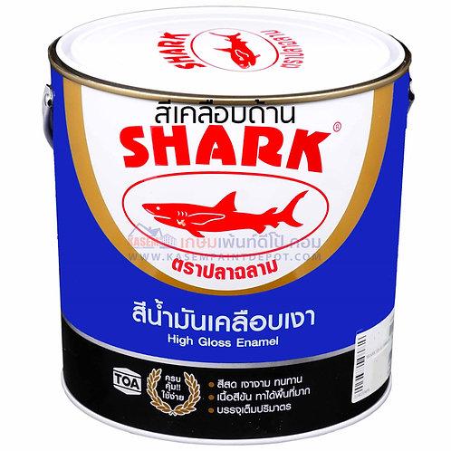 สีน้ำมันฉลาม ด้าน Shark Matt Enamel สีเคลือบด้าน ตราปลาฉลาม