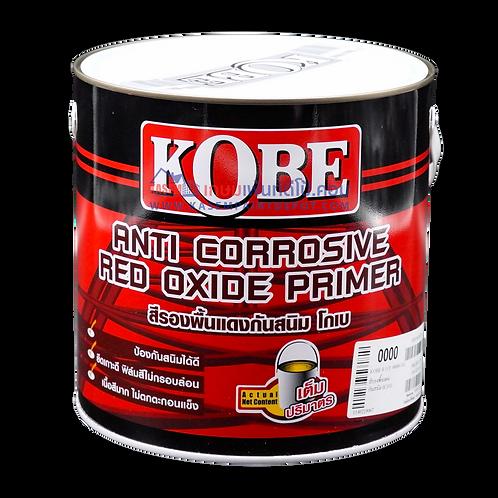 สีทีโอเอ โกเบ รองพื้นกันสนิมแดง Kobe Red Oxide Primer