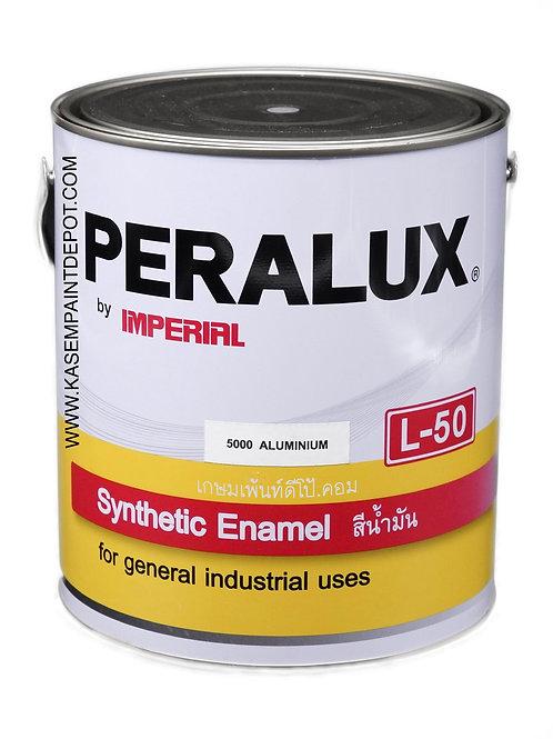สีน้ำมันพีราลักส์ PERALUX L50S เฉดสีอลูมิเนียม 5000 ขนาดแกลลอน 3.785 ลิตร