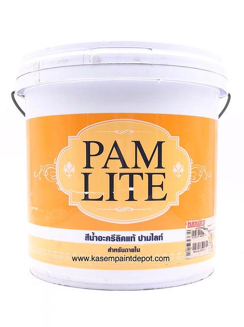 สีน้ำปามมาสติก ปามไลท์ ใน ชนิดด้าน Pammastic Pamlite Interior Base A แกลลอน 3.78