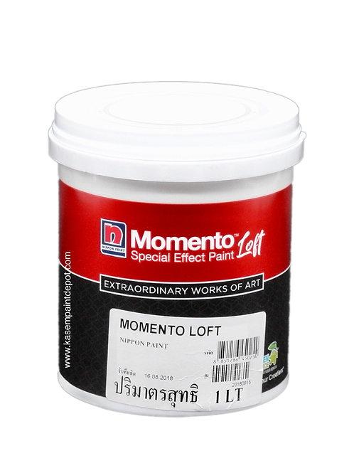 สีเคลือบเงานิปปอนโมเมนโต้ลอฟท์เคลียร์โค้ท Nippon Momento LOFT Clear Coat 1 ลิตร