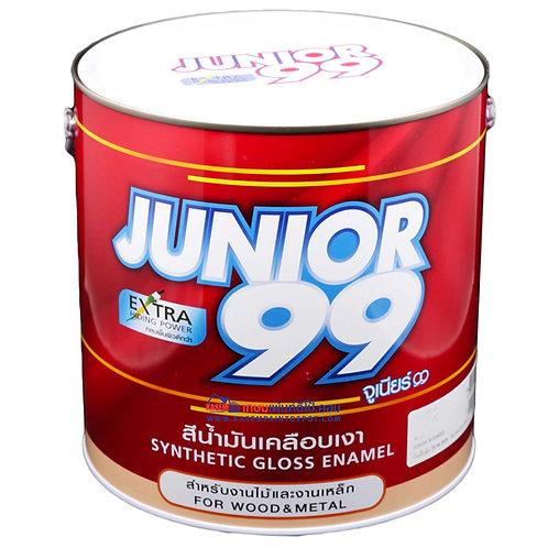 สีน้ำมันนิปปอน จูเนียร์ 99 Nippon Junior 99 Gloss Enamel ขนาดแกลลอน 3.5 ลิตร