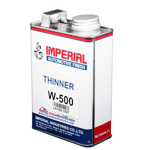 ทินเนอร์พีราลักส์ PERALUX Thinner W500 ขนาดกระป๋อง 0.946 ลิตร