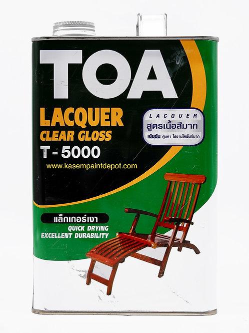 ทีโอเอ แลคเกอร์เงา  TOA Gloss Lacquer T-5000 ขนาดแกลลอน 3.785 ลิตร