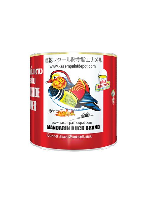 รองพื้นกันสนิมแดง ทีโอเอ เป็ดหงส์ TOA Mandarin Duck Red Oxide Primer ถังใหญ่