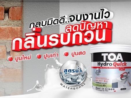 รองพื้นสูตรน้ำ ทีโอเอ ไฮโดรควิก ไพร์เมอร์ TOA Hydro Quick Primer